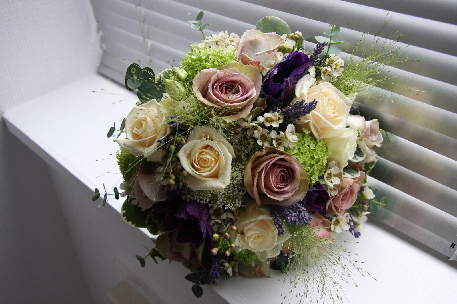 the flower magician vintage spring wedding bouquet. Black Bedroom Furniture Sets. Home Design Ideas