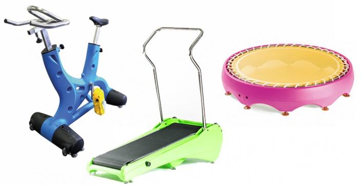 D couvrez les quipements aquafitness d 39 aquilus for Club piscine fitness tapis roulant
