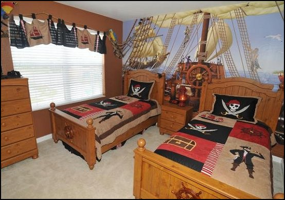 Decorating theme bedrooms - Maries Manor: pirate bedroom ...