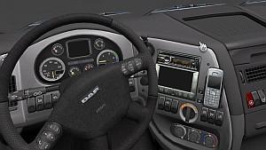 DAF XF HD interior 2.3