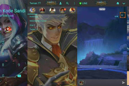 Download Tema Line Mobile Legends Gratis