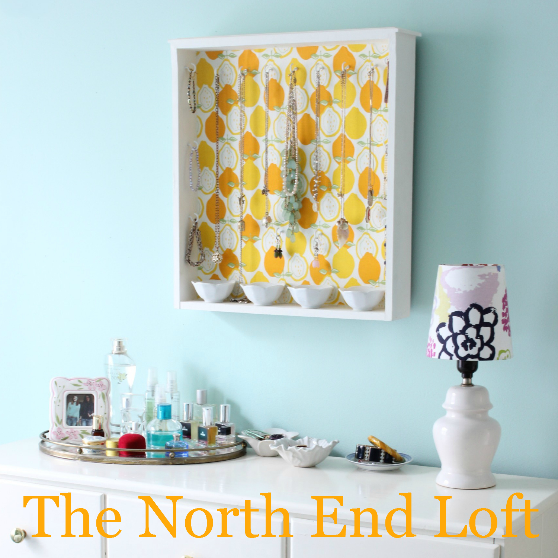 The North End Loft: DIY Jewelry Organizer