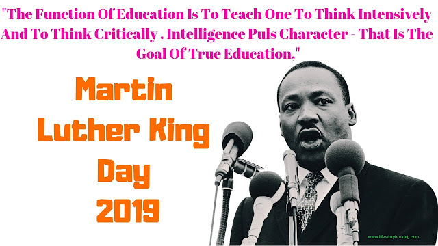 Martin Luther King Day in 2019