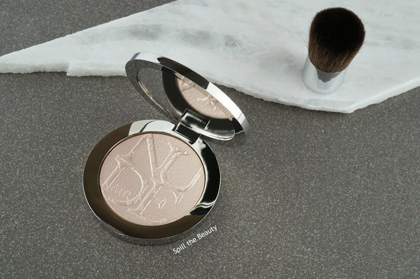 dior diorskin nude air luminizer shimmering sculpting powder 002 review swatches highlighter comparison