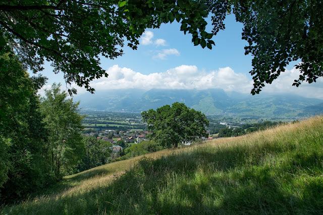 Historische Höhenweg von Bendern nach Schellenberg  Wandern Liechtenstein 09
