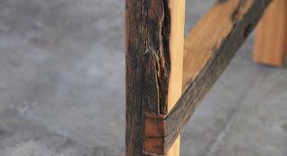 枕木 家具 制作 ユーカリ 販売 大阪 中古枕木 テーブル 脚