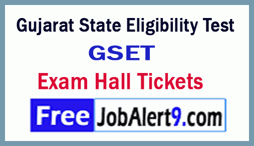GSET Admit Card 2019 Gujarat SET Hall Ticket