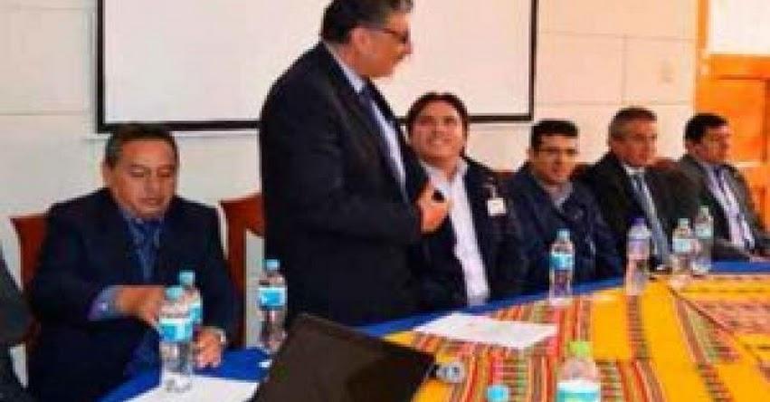 UGEL Chincheros se prepara para Certificación en el ISO 9001 - Cusco