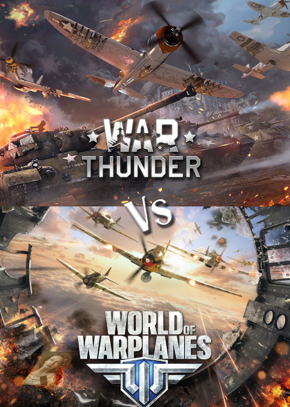 War thunder vs world of warplanes