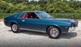 1968 AMC AMX Sports Coupe Front Right