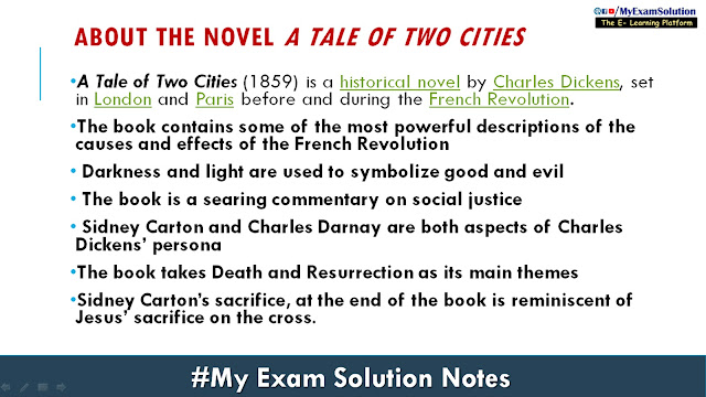 a tale of two cities novel by charles dickens, about a tale of two cities
