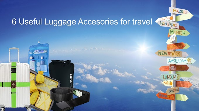 6 Useful Luggage Accessories for Organized Travel