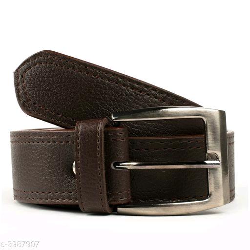 Artificial Leather Men's Belts