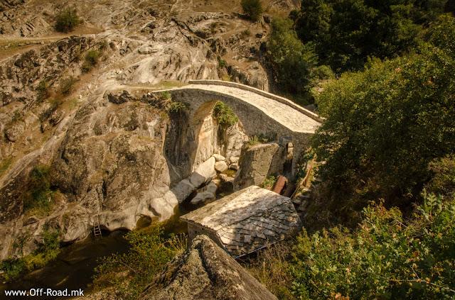 Stone Bridge in village Zovik, Mariovo