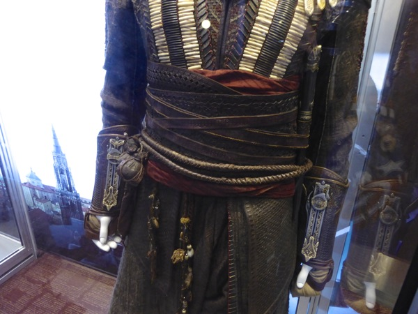 Assassins Creed Aguilar waist costume detail