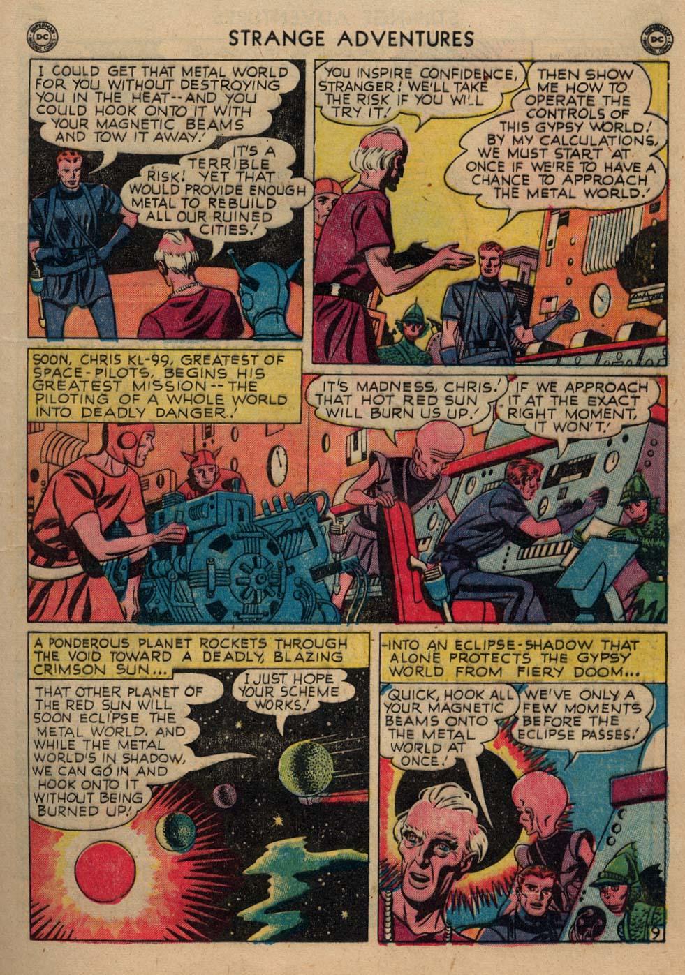 Strange Adventures (1950) issue 3 - Page 11