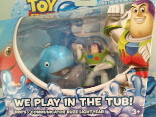 toy story partysaurus rex drips whale bathtime buddies