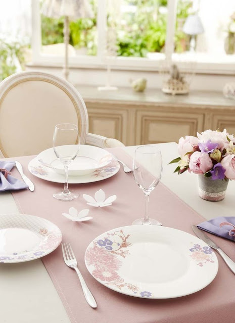 Dishes and Tableware With Flowers 7