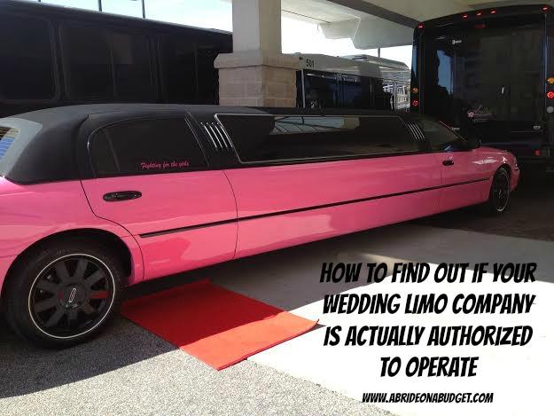粉红色的豪华轿车