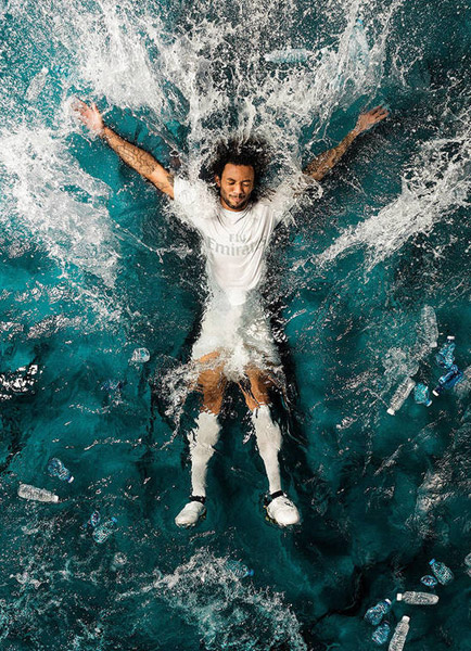 camiseta Real Madrid de Adidas y Parley for the Oceans