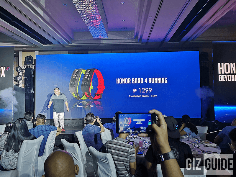 Honor Band 4 Running launched in PH too, priced!