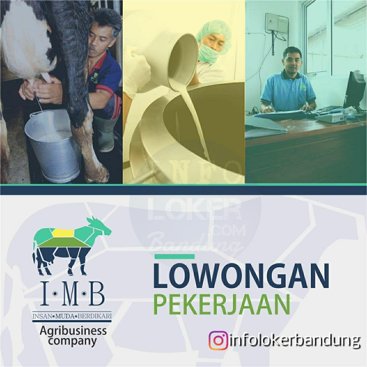 Lowongan Kerja Insan Muda Berdikari ( Agribusiness Company ) Bandung Mei 2018
