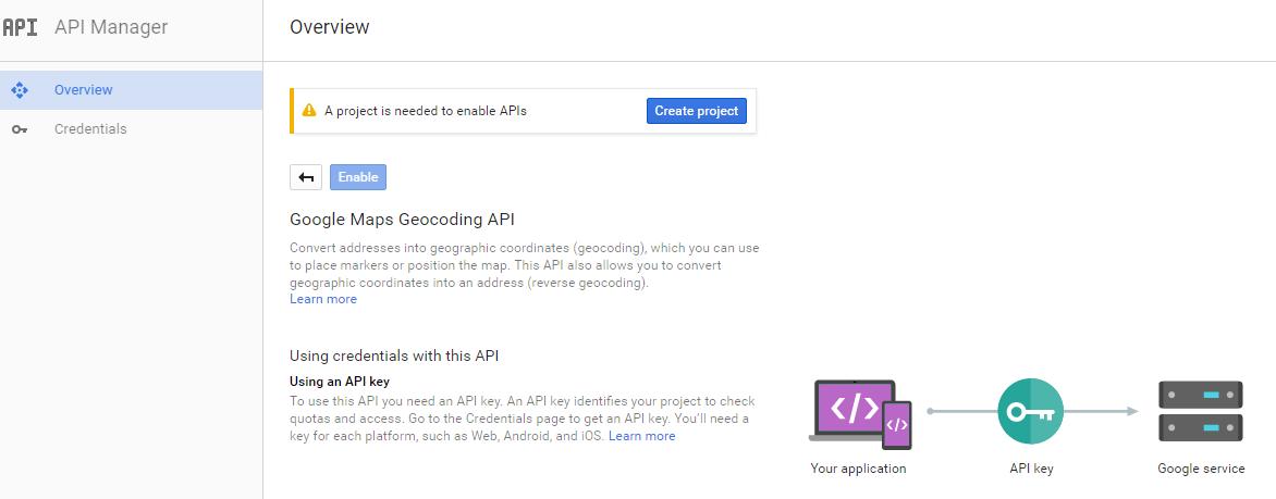 4 easy steps to generate Google Map geocoding API key ...