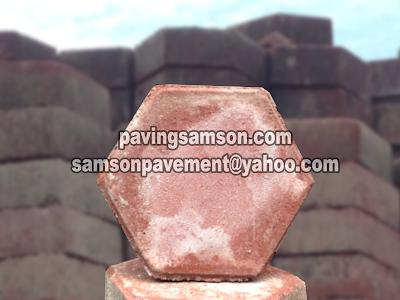 jual paving block hexagon