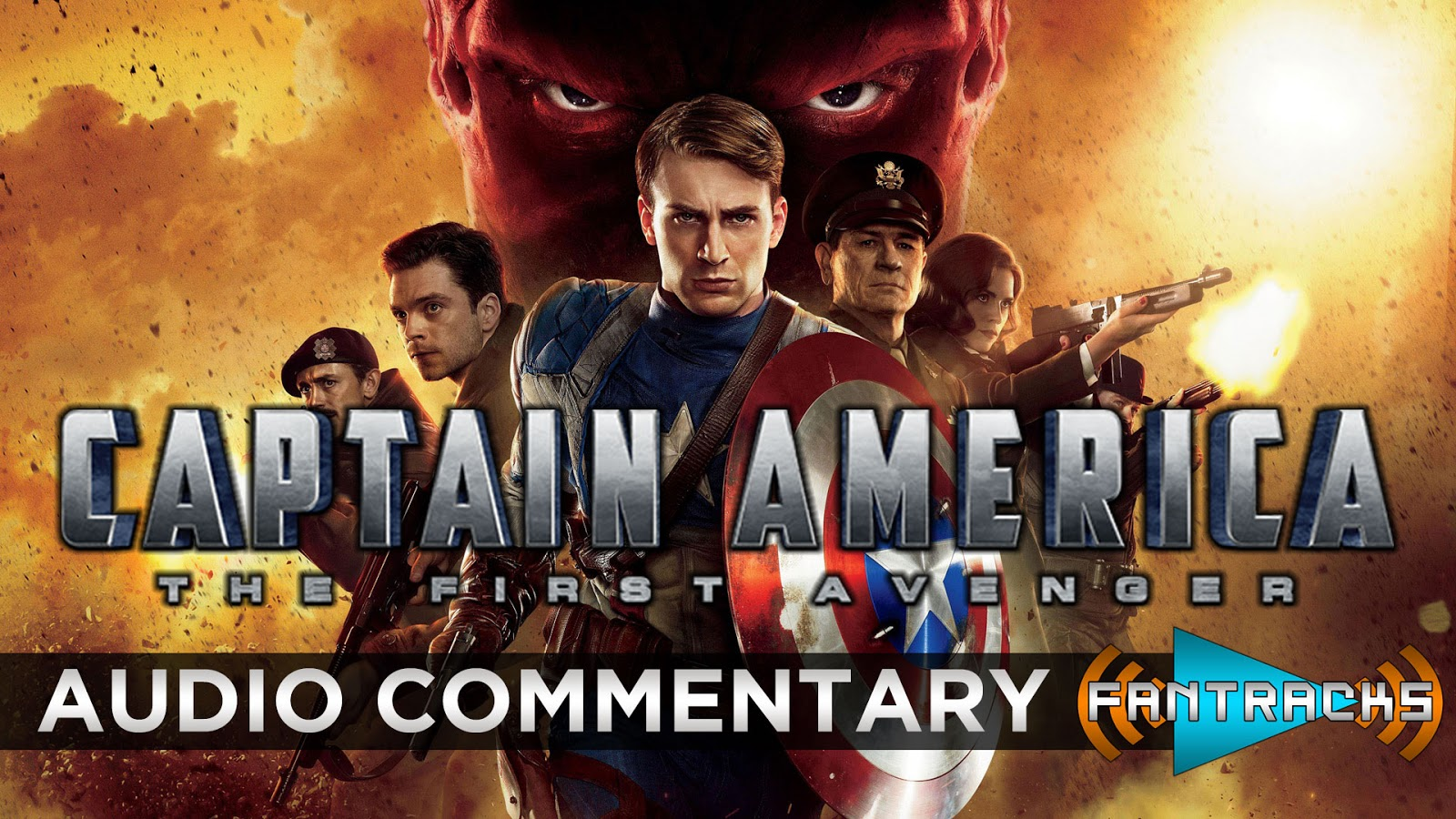 FanTracks Captain America: The First Avenger audio commentary