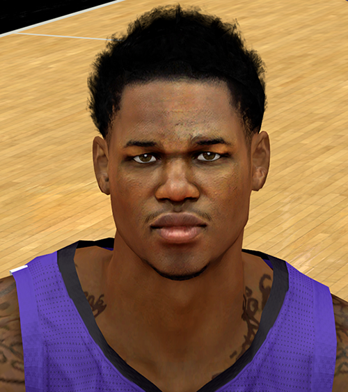 NBA 2K14 Ben McLemore Face & Hair Mod
