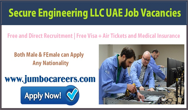 UAE Engineer jobs with salary and benefits, Current vacancies in Gulf countries, ,