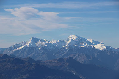 Grandes Jorasses and Mont Blanc by Björn S... (Creative Commons Licence 2.0)