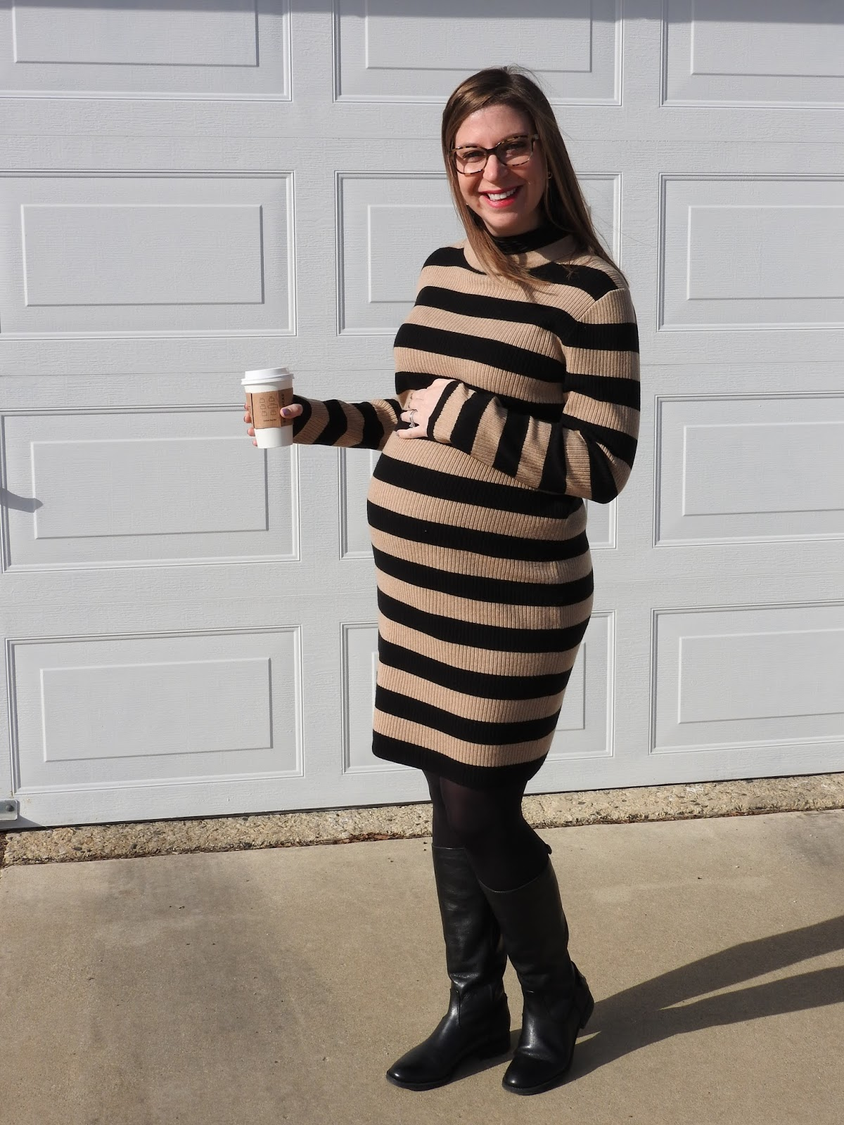 This Dress Also Comes In Heather Gray Stripes