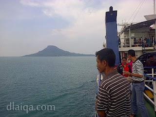 menuju pelabuhan Merak, Banten