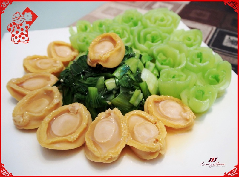 chinese new year fortune abalone recipes bok choy