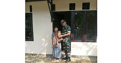 Ini Penampakan Rumah BU Nangimah Setelah Direhab Satgas TMMD