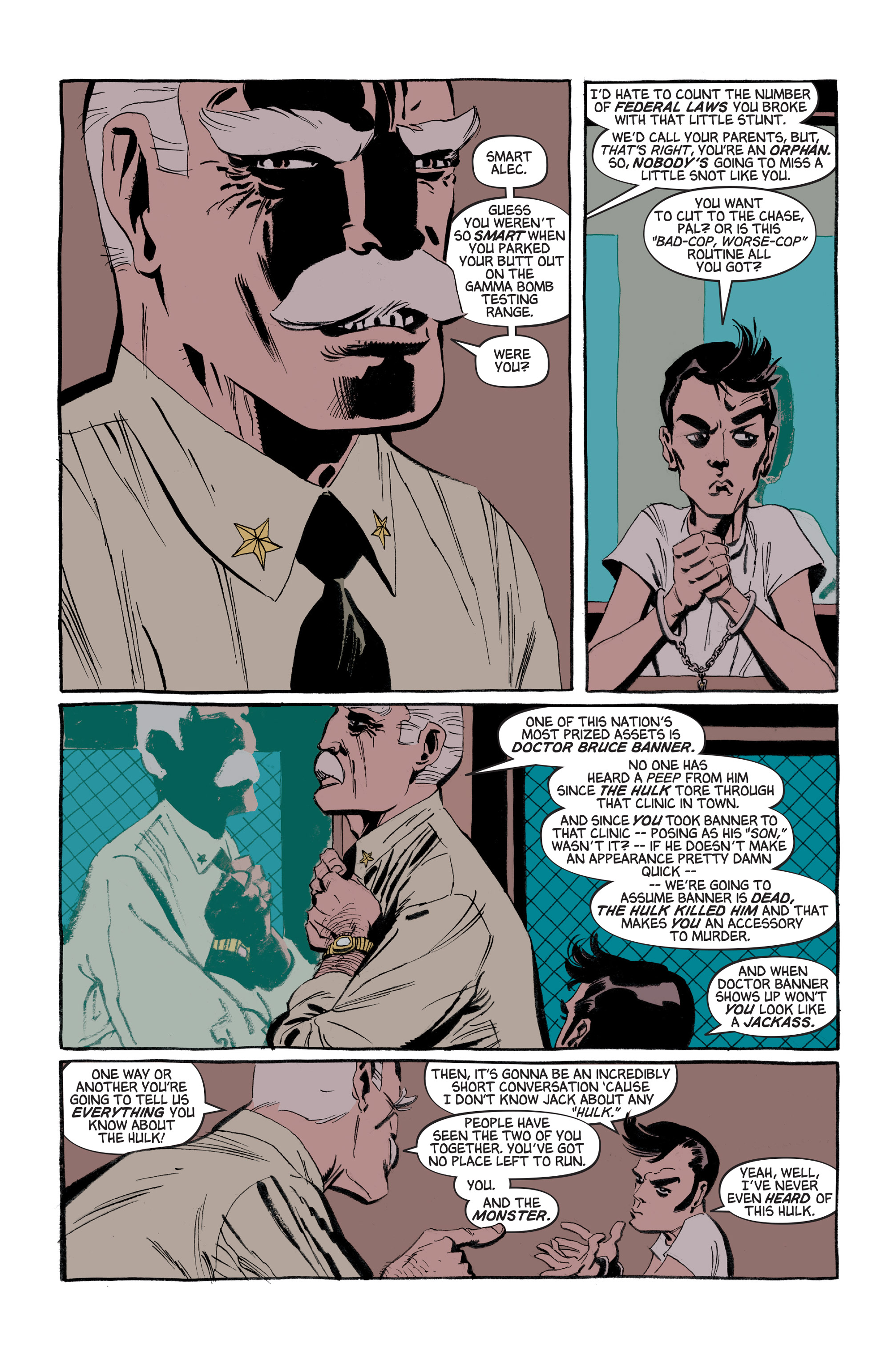 Read online Hulk: Gray comic -  Issue #3 - 12