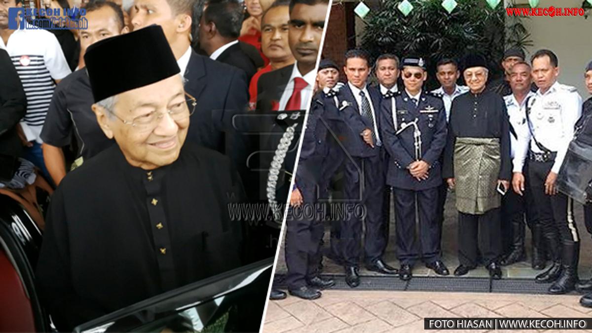 Video Penuh Dan Rakaman Langsung Mahathir Angkat Sumpah Sebagai PM Ke-7