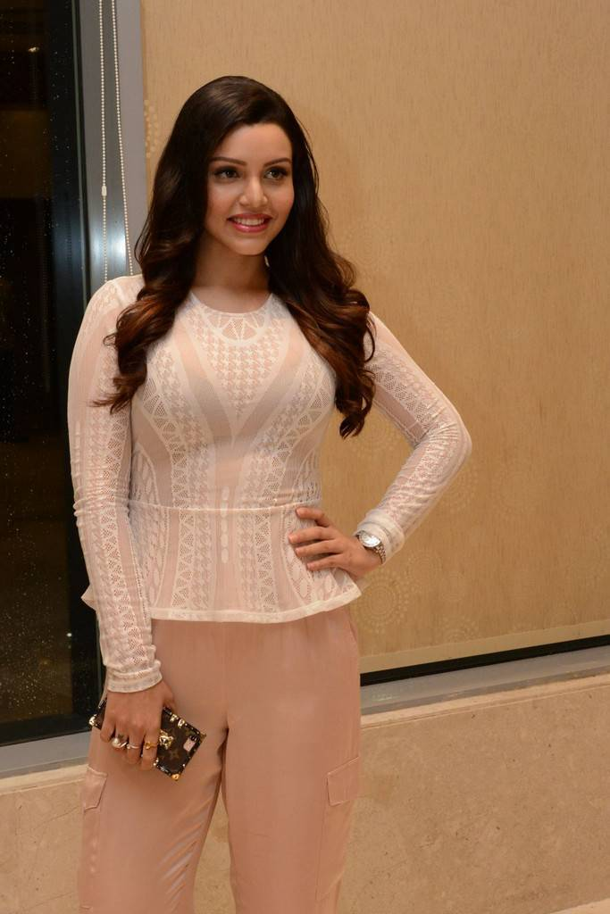 Kyra Dutt At Paisa Vasool Audio Success Meet Event Stills