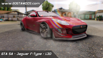 GTA SA - Jaguar F-Type L3D Store Edition 1