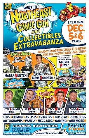 Winter North East Comic Con And Collectibles Extravaganza -  Poster