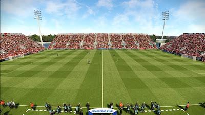 PES 2019 Stadium Estádio Luso Brasileiro by Arthur Torres