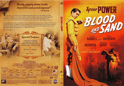 Carátula dvd: Sangre y arena (1941) (Blood and Sand)