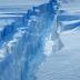 Uno de los icebergs más grandes de la historia se desprende en la Antártida