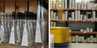 Etikettendrucker mit Farbband