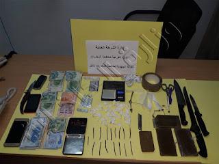 ضبط 03 أشخاص بحوزتهم مخدر الزطلة ومخدر الكوكايين