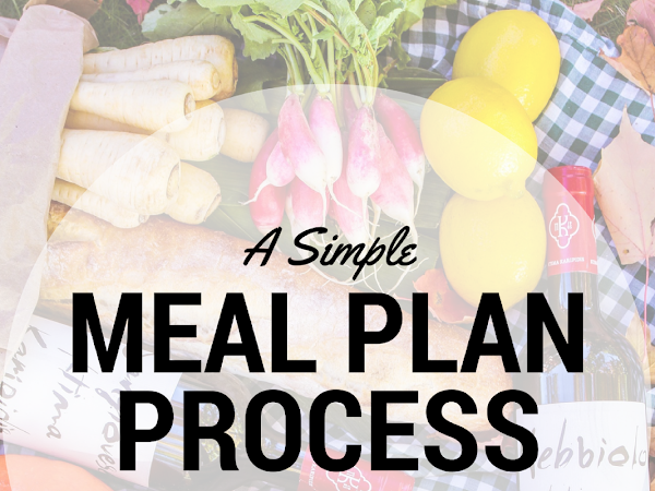 My Meal Planning Process