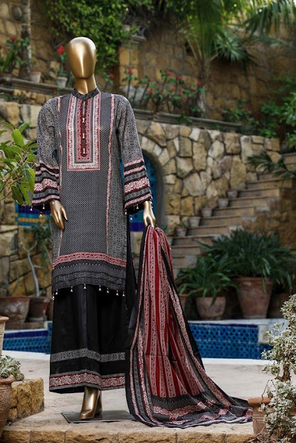 Fariha & Farah Naz Lawn Collection 2020 By Bin Saeed