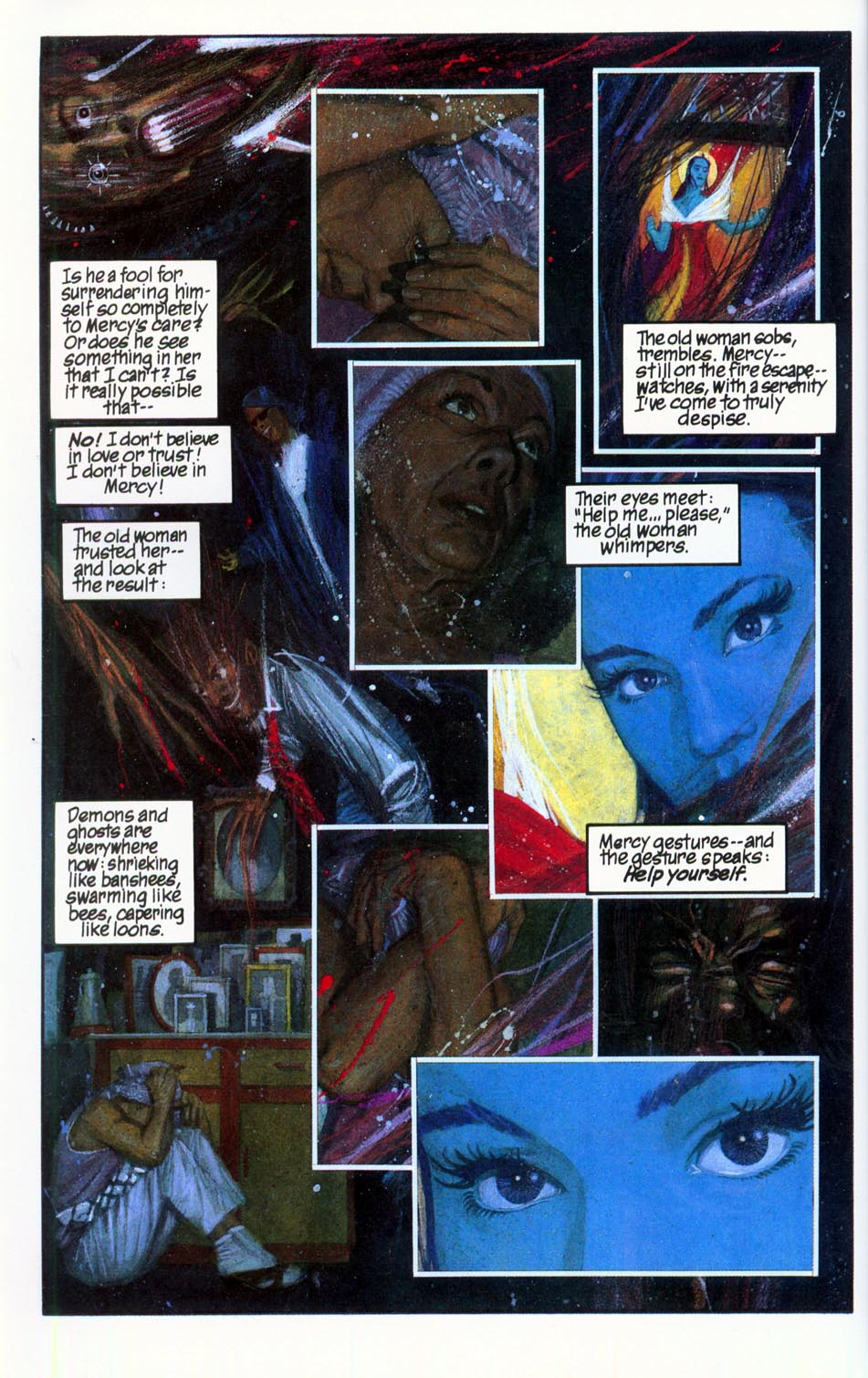 Read online Mercy comic -  Issue # Full - 52