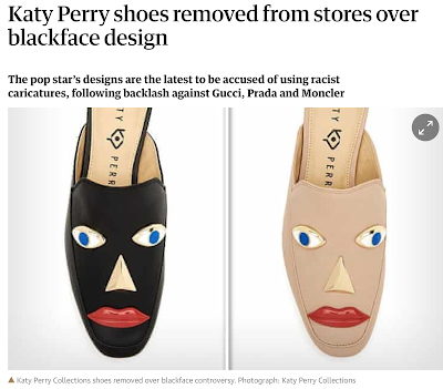 The Great Blackface Scare of 2019 reaches Katy Perry.